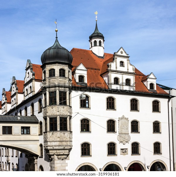 Bavaria, Munich, Germany, historical building
