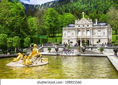 Bavarian castles-Linderhof