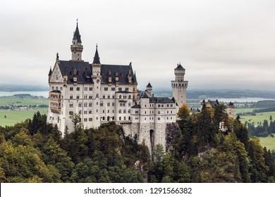 Bavarian Fairy Tale Landscape