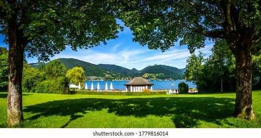 bavarois lac tegernsee - mauvais wiessee - allemagne