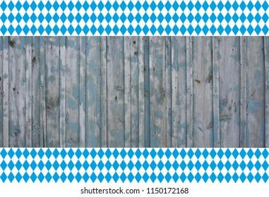 bavarian wood board background