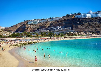 Bay of Amadores Beach in Gran Canaria in Spain - not far from Playa del Ingles