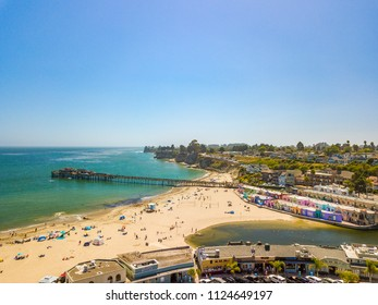 Bay Area Aerial Images Santa Cruz California