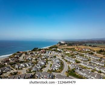 Bay Area Aerial Images Santa Cruz California