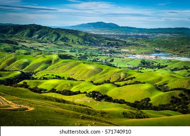 Bay Area Hills near Silicon Valley, San Francisco,  California