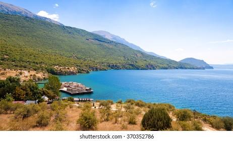 Bay of Bones in Lake Ohrid