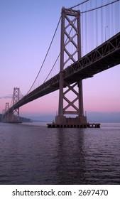 Bay Bridge At Dusk (San Francisco)
