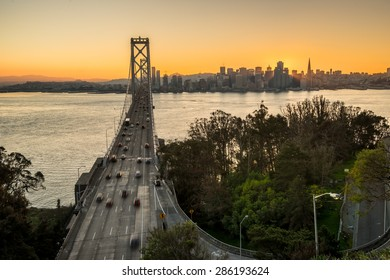 Bay Bridge Golden Hour, San Francisco