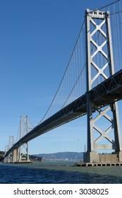 Bay bridge in San Francisco.