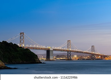 Bay Bridge at San Francisco California USA