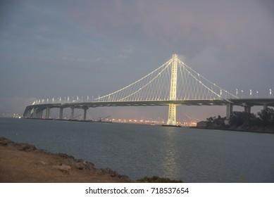Bay Bridge in Sanfrancisco