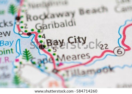 Bay City Oregon Usa Stock Photo Edit Now 584714260 Shutterstock
