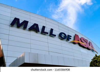Bay City, Pasay, Philippines - Jan. 7, 2013: SM Mall of Asia, or MoA, is a shopping mall in Bay City, Pasay, Philippines.
