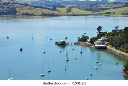 Bay of islands near to Auckland, New Zealand