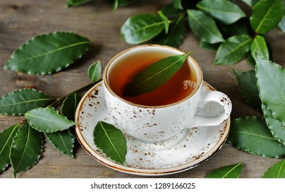 Bay Leaf Tea. useful hot drink is useful for colds, increases immunity,  has antiviral effect, soothes the nervous system, improves appetite.