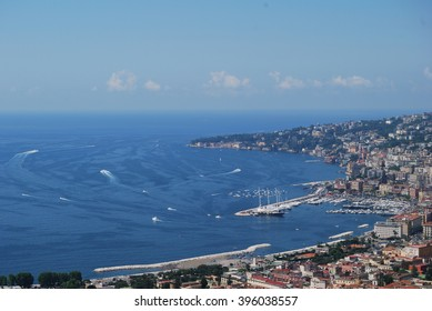 Bay of Naples -  aerial view ,Italy