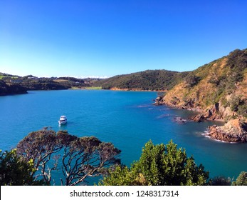 Bay on Waiheke Island in New Zealand, just off the coast of Auckland