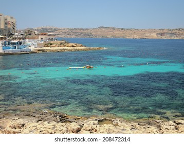 Bay in Saint Pavel's gulf. Malta