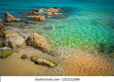bay of San Tropez, Mediterranean sea, France
