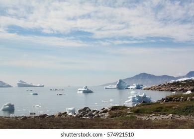 Bay at Saqqaq, Greenland