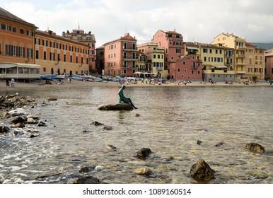 Bay of Silence - Baia del Silenzio - Sestri Levante . Genoa, Liguria, Italy