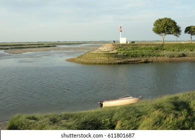 Bay of Somme in Picardie, France