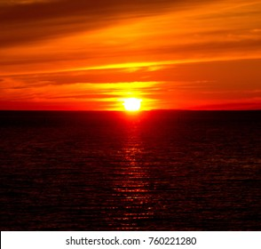 Bay View Setting Sun