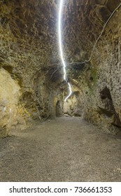 Bayburt Aydintepe old underground city ( Aydintepe ilcesinde bulunan yeralti sehri, Bayburt, Turkey)