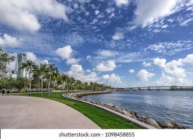 Bayfront Park in Miami Florida