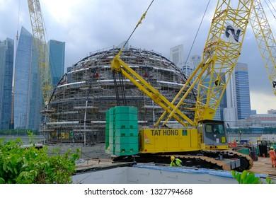 Site Construction Singapore Images, Stock Photos & Vectors