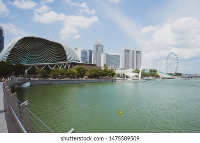 Bayfront/Singapore- 04/03/2019 photo from Marina Bay Sands in Singapore