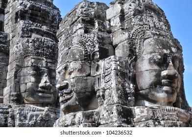 Bayon, Angkor Thom, Seim Reap, Cambodia