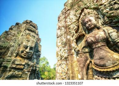 Bayon, Angkor Tom