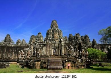 Bayon face, Angkor wat, Combodia