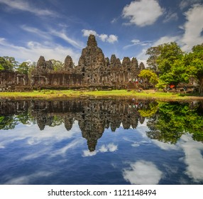bayon ,siem reap ,Cambodia, was inscribed on the UNESCO World Heritage List in 1992.