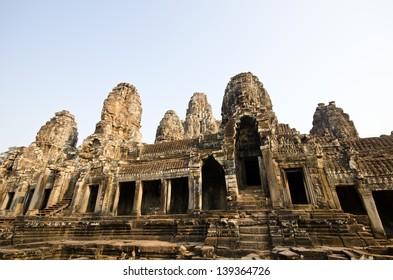 Bayon temple Angkor complex