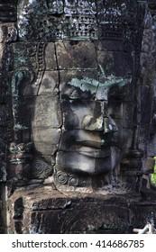 Bayon temple  Angkor Thom, Cambodia