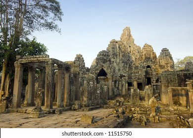 Bayon temple. Near Siem Riep. Cambodia