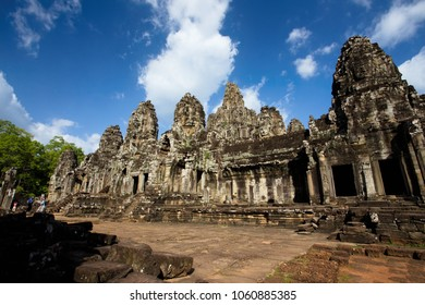 Bayon Temple, Temples of Angkor, Cambodia