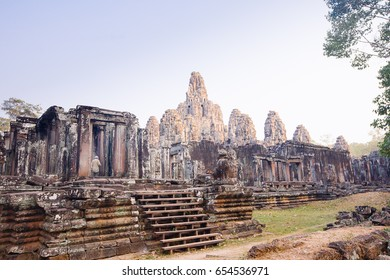 Bayon temple,siem reap ,Cambodia, was inscribed on the UNESCO World Heritage List in 1992.