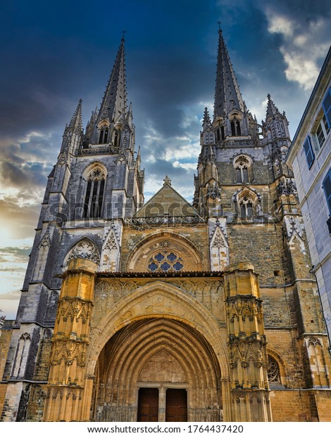 Bayonne. historical city in the south of France near of Spain