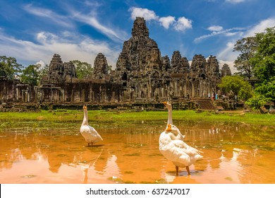 bayon,siem reap ,Cambodia, was inscribed on the UNESCO World Heritage List in 1992.