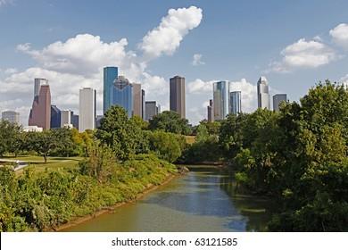 The Bayou City, Houston, Texas.