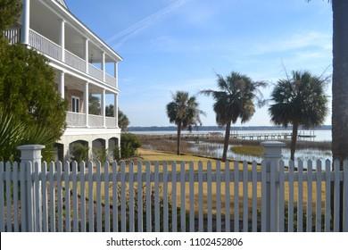 Bayside House in Beaufort South Carolina