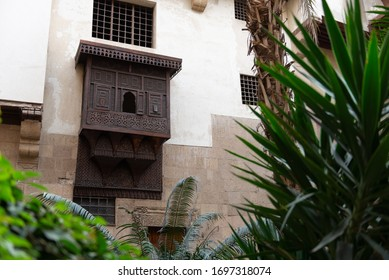 "Bayt Al-Suhaymi (""House of Suhaymi"") is an old Ottoman era house museum in islamic Cairo, Egypt. It was originally built in 1648 by Abdel Wahab el Tablawy along the Darb al-Asfar, a very prestigious a"