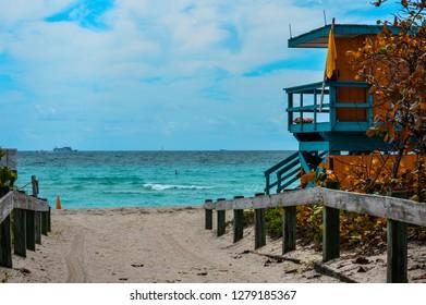 A Baywatch Cabin in Miami Beach