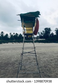 Baywatch. Checkpost at the beach
