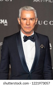 Baz Luhrmann attends  2018 LACMA Art+Film Gala Honoring Catherine Opie + Guillermo Del Toro at LACMA, Los Angeles, California on November 3rd, 2018