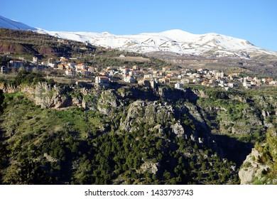 Bazaoun and Quadisha valley, Lebanon