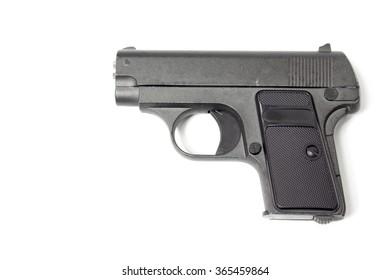 BB gun or air pistol made for the sport.